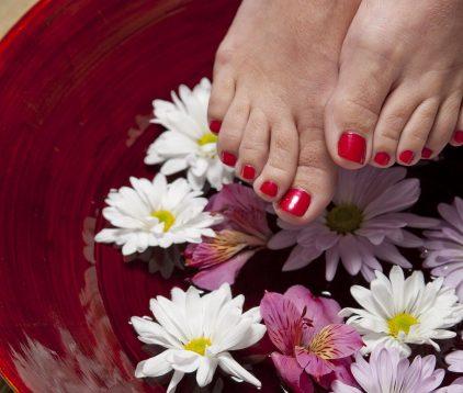 foot, pedicure, spa